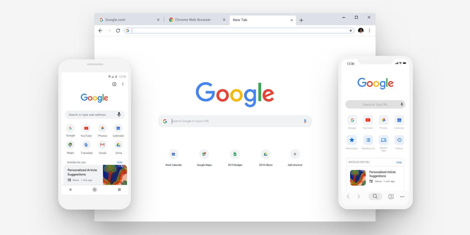 Gruppi di schede personalizzabili in Google Chrome
