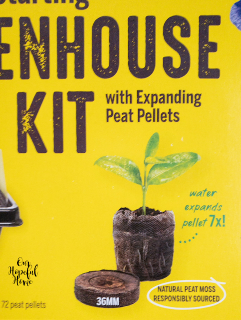 water expands pellet 7X Jiffy peat pots