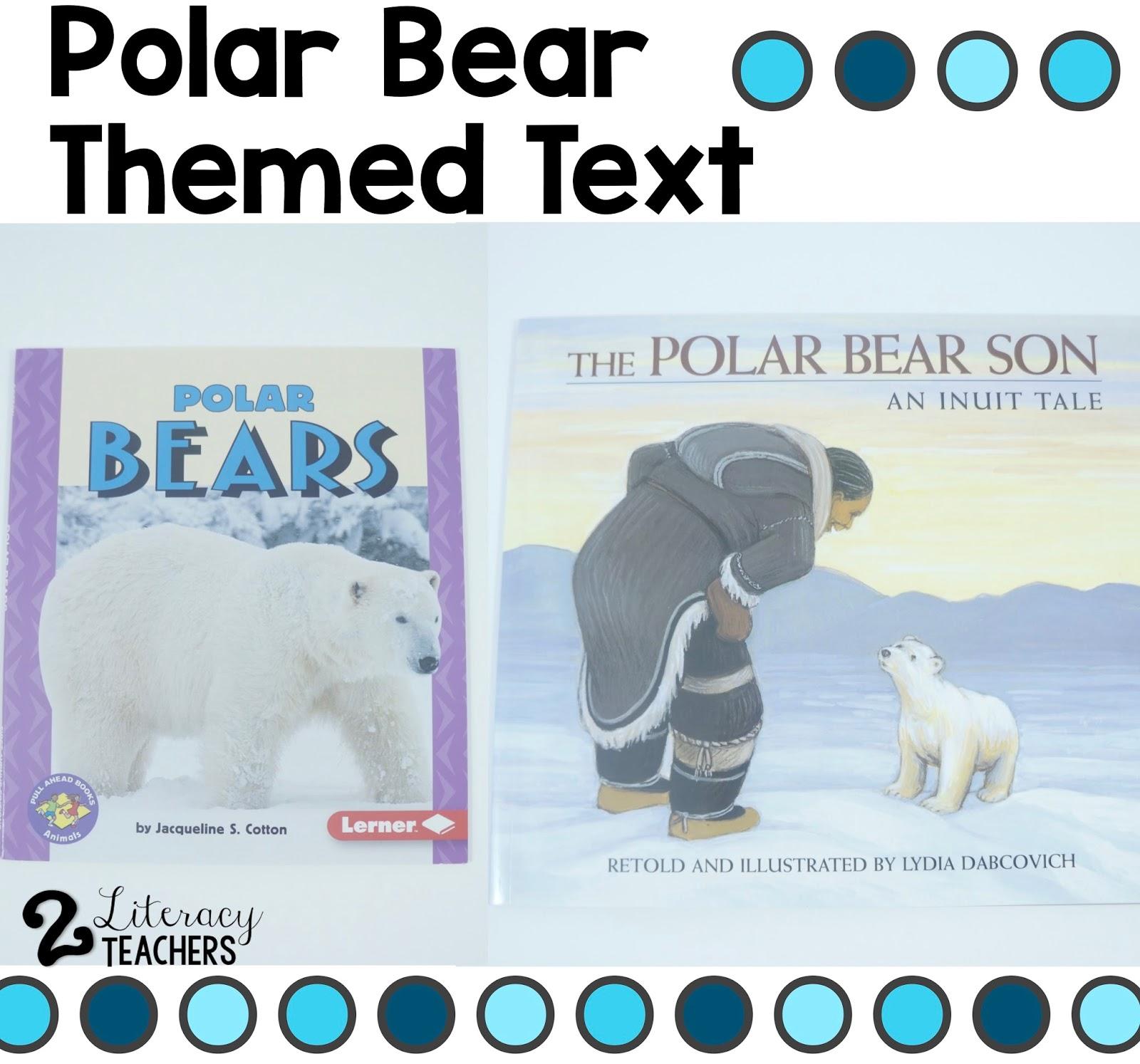 2 Literacy Teachers Teaching Reading With A Polar Bear