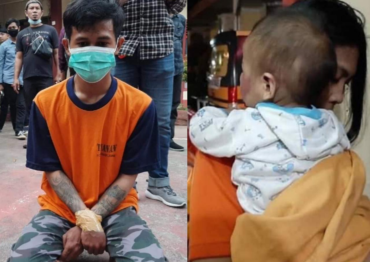 Lantaran Rewel Bocah Dipukul Hingga Memar, Pacar Ibu di Amankan Polisi