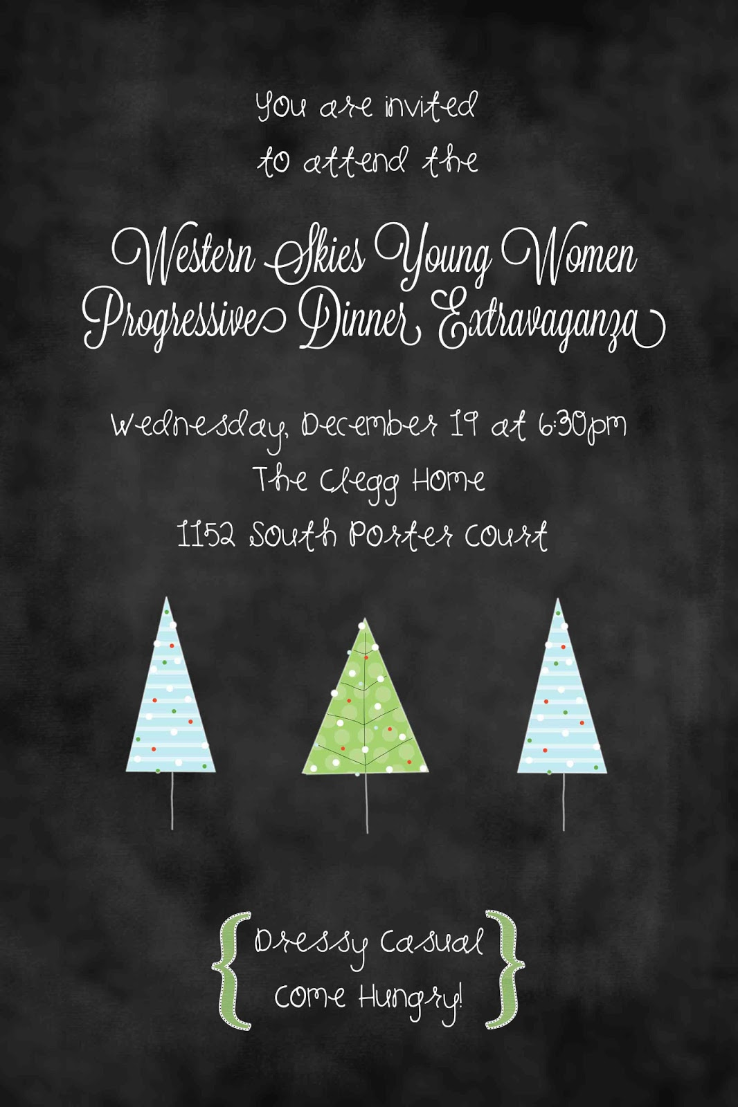 Young Women Christmas Extravaganza