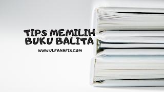 Tips memilih buku untuk balita