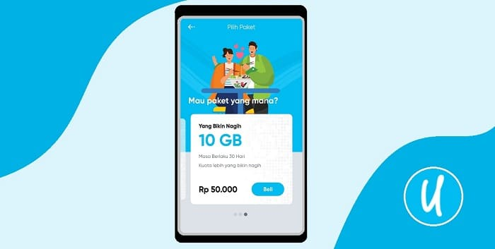 Cara Beli Kartu By.U Resmi Dari Telkomsel, Pumbung Murah Coy!