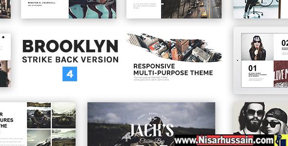 Brooklyn Creative Multi-Purpose WordPress Premium Theme