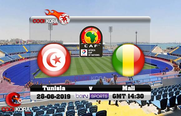 مشاهدة مباراة تونس ومالي اليوم 28-6-2019 علي بي أن ماكس كأس الأمم الأفريقية 2019