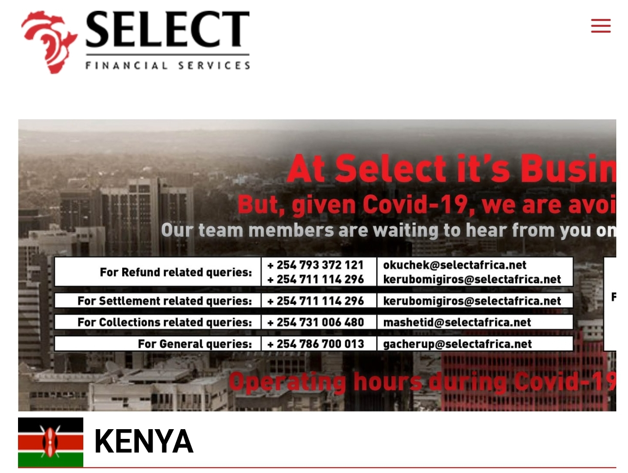Select Credit Africa