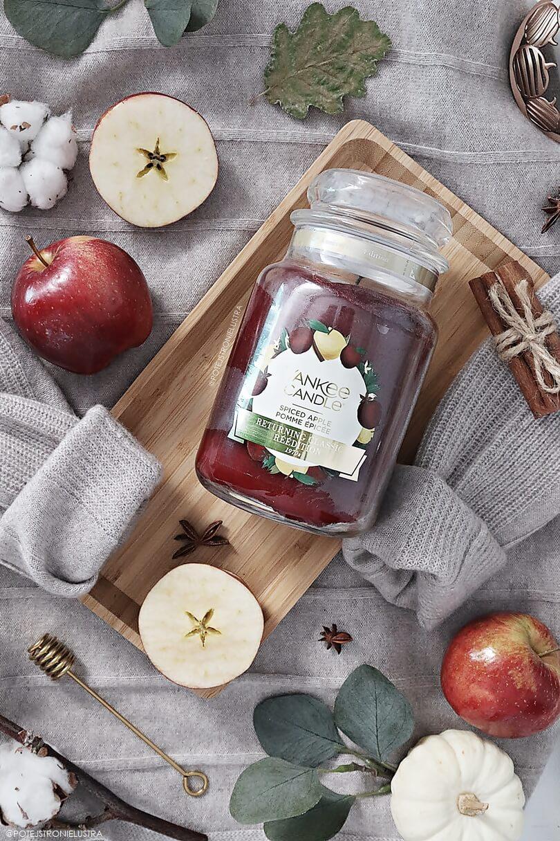 yankee candle spiced apple limitowany zapach na jesień 2019