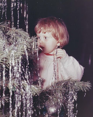Brita at Christmas Back When