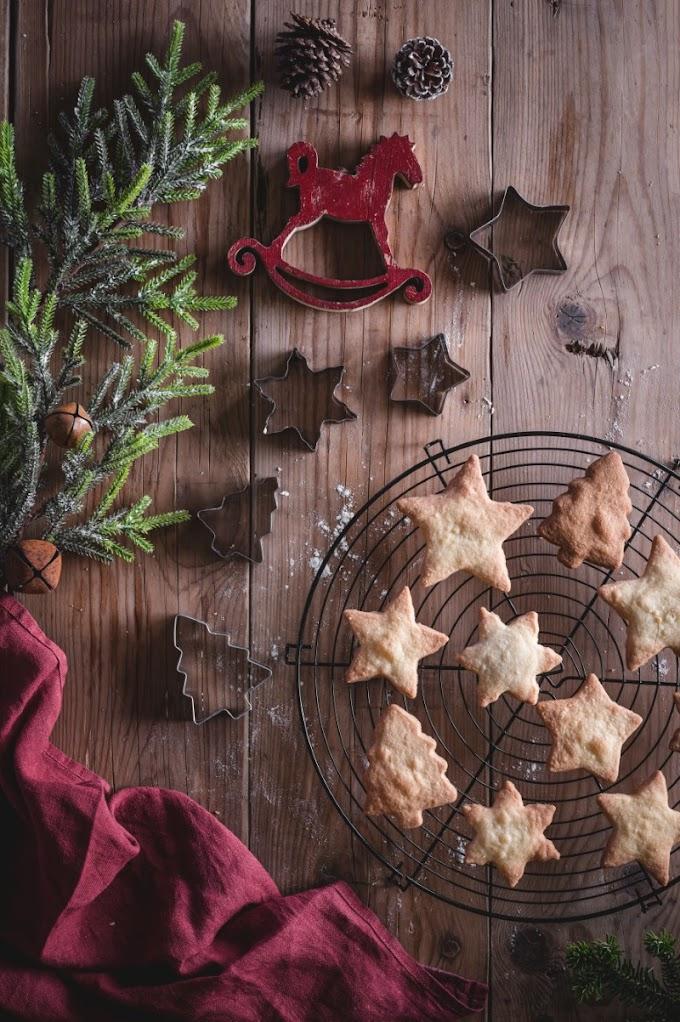 Συνταγή για Χριστουγεννιάτικα shortbreads (by Victoria Giannara)