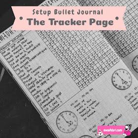 bullet journal tracker