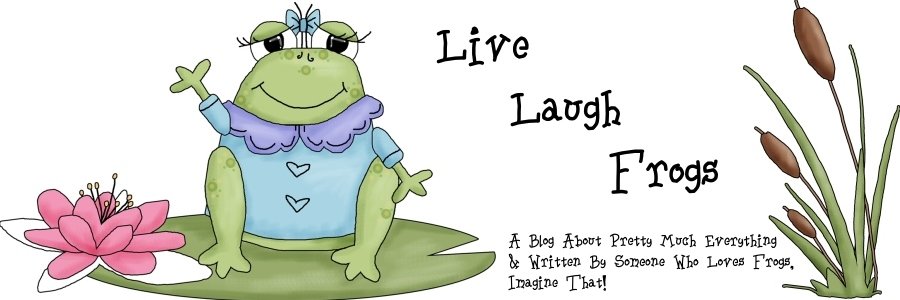 Live, Laugh, Frogs