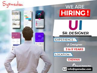 We are Hiring Senior UI Designer