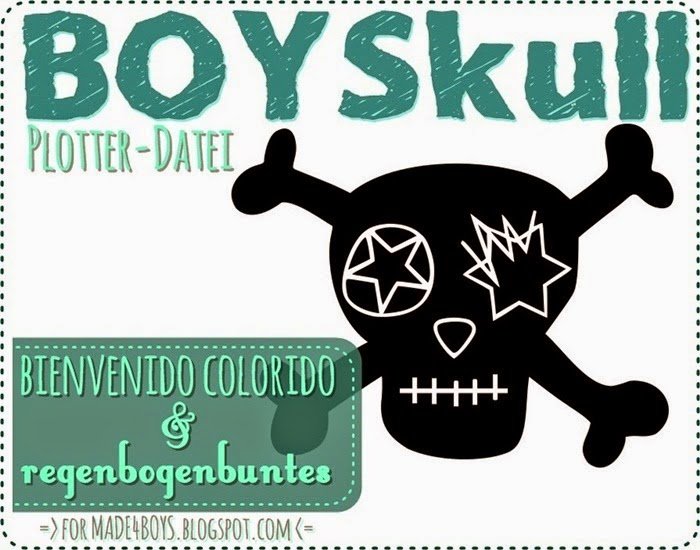 BOYSkull Plotterdatei - FREEBIE