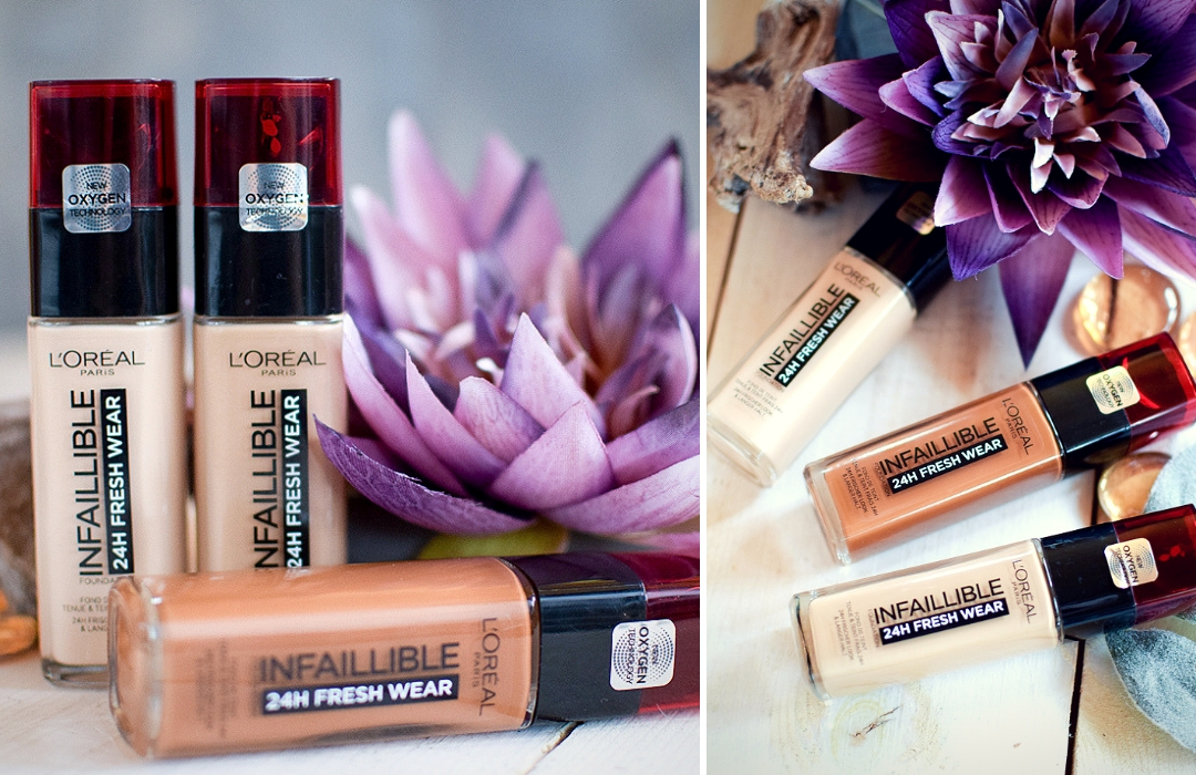 L'Oréal Infaillible 24h Fresh Wear Foundation, Erfahrung