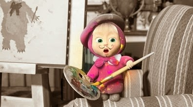 Gambar Foto Lucu Masha And The Bear