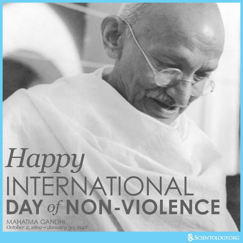 International Day of Non-Violence Wishes Images