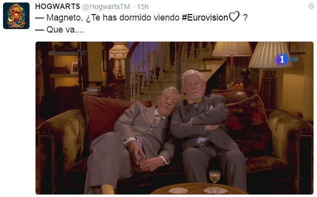Gandalf o Magneto en eurovision 2016