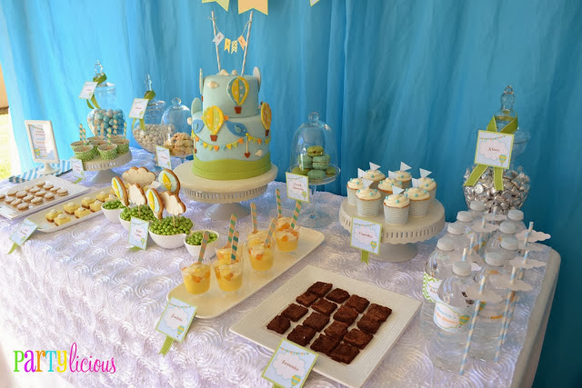 Up, Up, and Away Baby Shower!