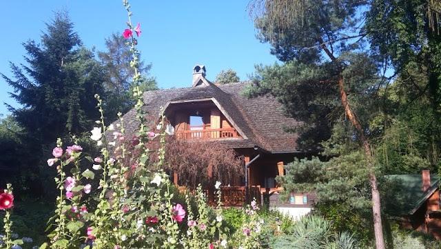 stary dom w Wiatrakowie Kazimierz Dolny Cholewianka