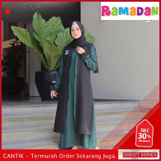 DDE077D30 Dress Nonihijab Muslim Fashion Lebaran Update 2019 Tunik BMGShop