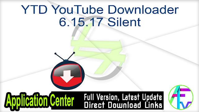 YTD YouTube Downloader 6.15.17 Silent