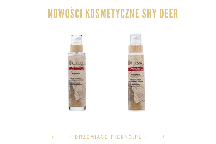Naturalny płyn micelarny Shy Deer 200 ml