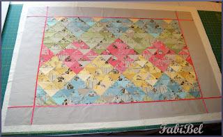 couverture bébé jardin gris robin pandolph matelassage