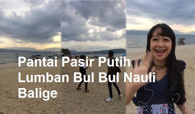 Keindahan Pantai Pasir Putih Lumban Bul Bul Nauli Balige