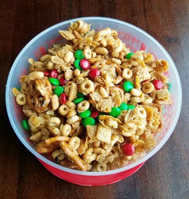 Mary-Ann's Sweet and Salty Caramel Snack Mix