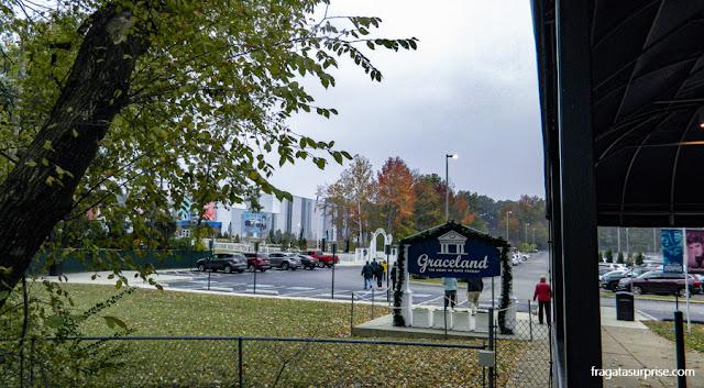 Graceland, a mansão-museu de Elvis Presley, em Memphis