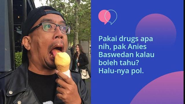 Soal Banjir, Vokalis Band Seringai Sebut Anies Baswedan Pakai Drugs