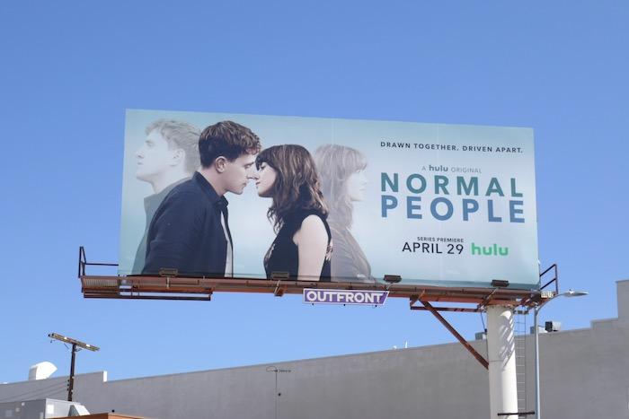 Normal People series premiere billboard