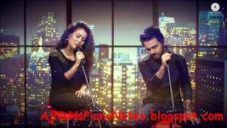Mile Ho Tum Humko Sargam Piano Notes from Fever