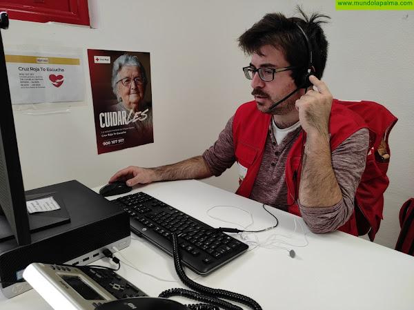 Ya está operativo el servicio de apoyo psicológico 'Cruz Roja Te Escucha La Palma', 900 107 917