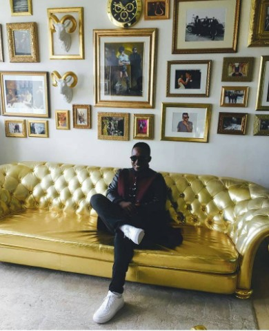 MI Abaga Visits Jay Z's Roc Nation Office In New York