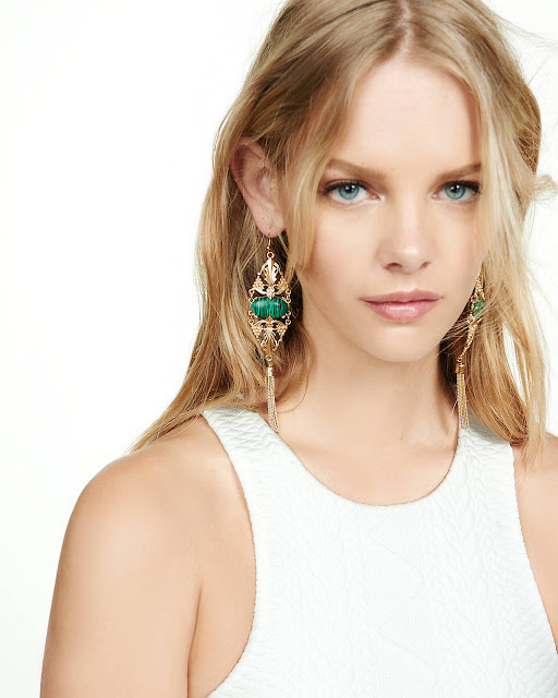 Fashion Model, @ Marloes Horst - Lesli Dale Vintage Jewelry for Express 2016