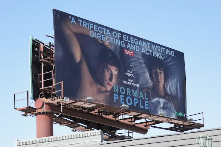 Normal People Emmy FYC billboard
