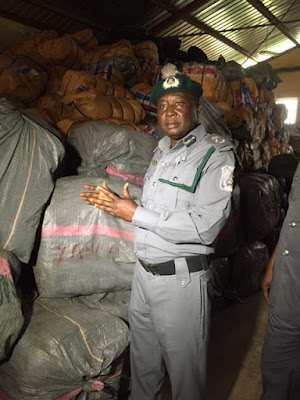 Owerri has recorded a total of two hundred and thirty-one (231) seizures of contraband goods with an overall Duty Paid Value