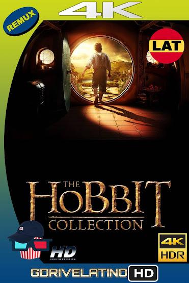 El Hobbit (2012-2014) Colección BDRemux 4K HDR Latino-Ingles MKV