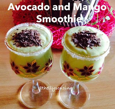 How To Make Avocado and Mango Smoothie