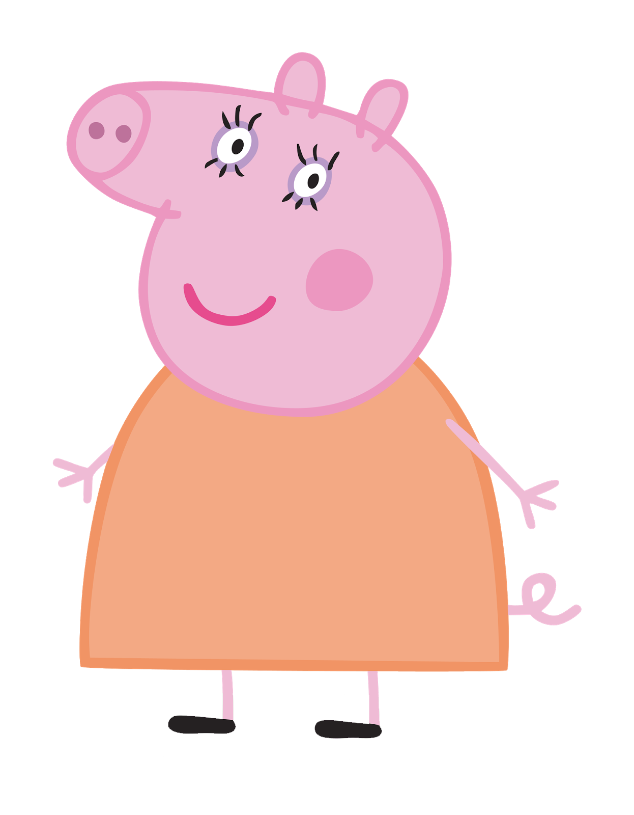 recursos gratis para fiestas tem u00e1ticas imagenes peppa pig clip art ballerina slippers clip art ballerina bun