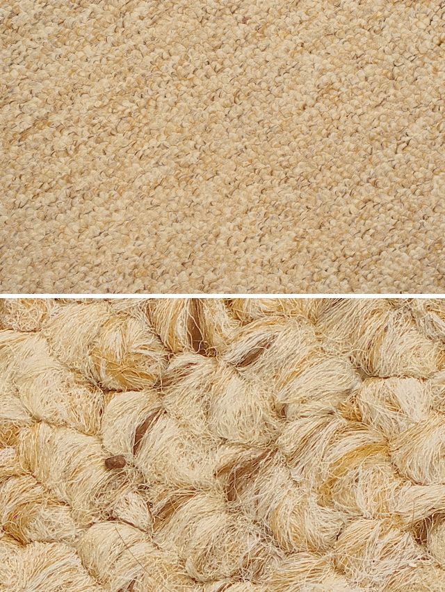 Detailed carpet texture closeup
