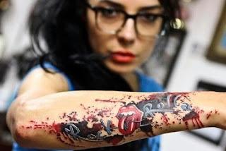 foto 2 de tattoos inspirados en grandes bandas