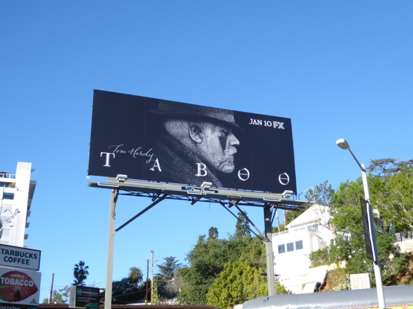 Taboo series premiere billboard