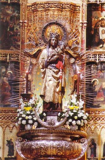 Almudena o Al-mudayna, patrona de Madrid. (origenes)