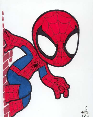 Spiderman Chibi Draws. - Oh My Fiesta! for Geeks