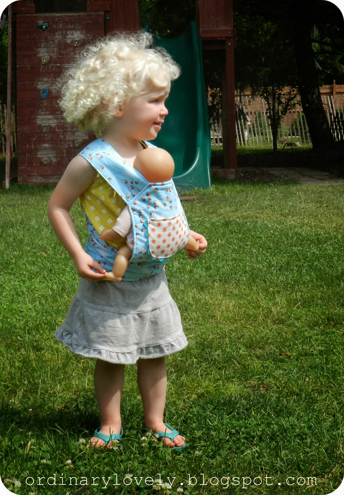 Ordinary Lovely A Baby Doll Carrier For Clare Sewing