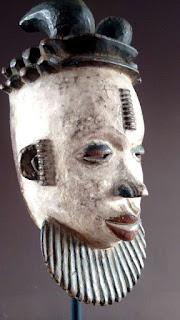 Máscara Ogoni. Perfil