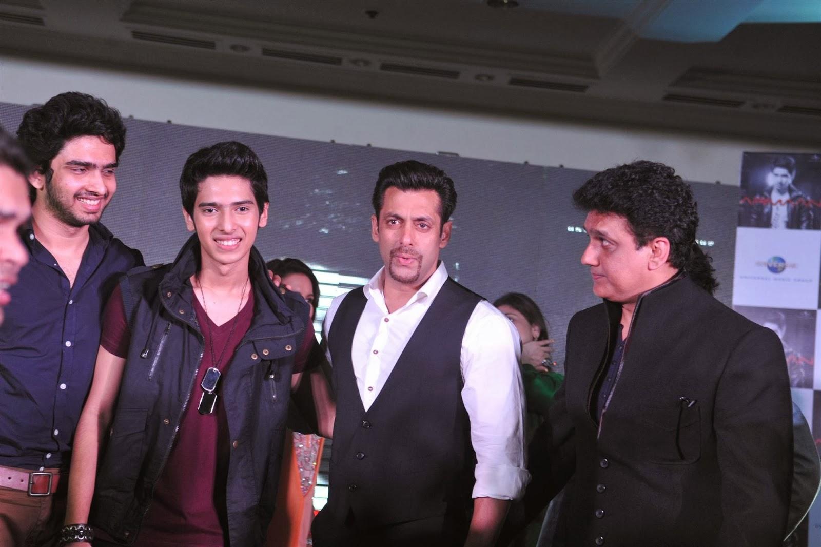 Salman Khan Launches Armaan Malik Debut Music Album  Indian Cinema-6500