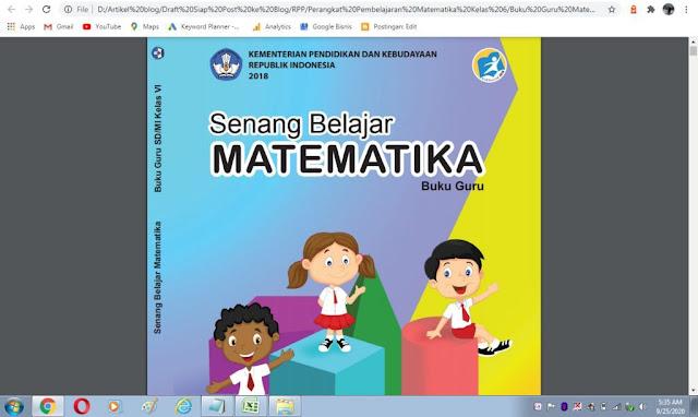Buku guru matematika kelas 6 sd kurikulum 2013 pdf